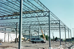Reinforcing Steel Frame Picture #3 - Alex Products Building