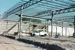Reinforcing Steel Frame Picture #4 - Alex Products Building